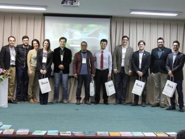 Foto com os palestrantes do II ENEDIF