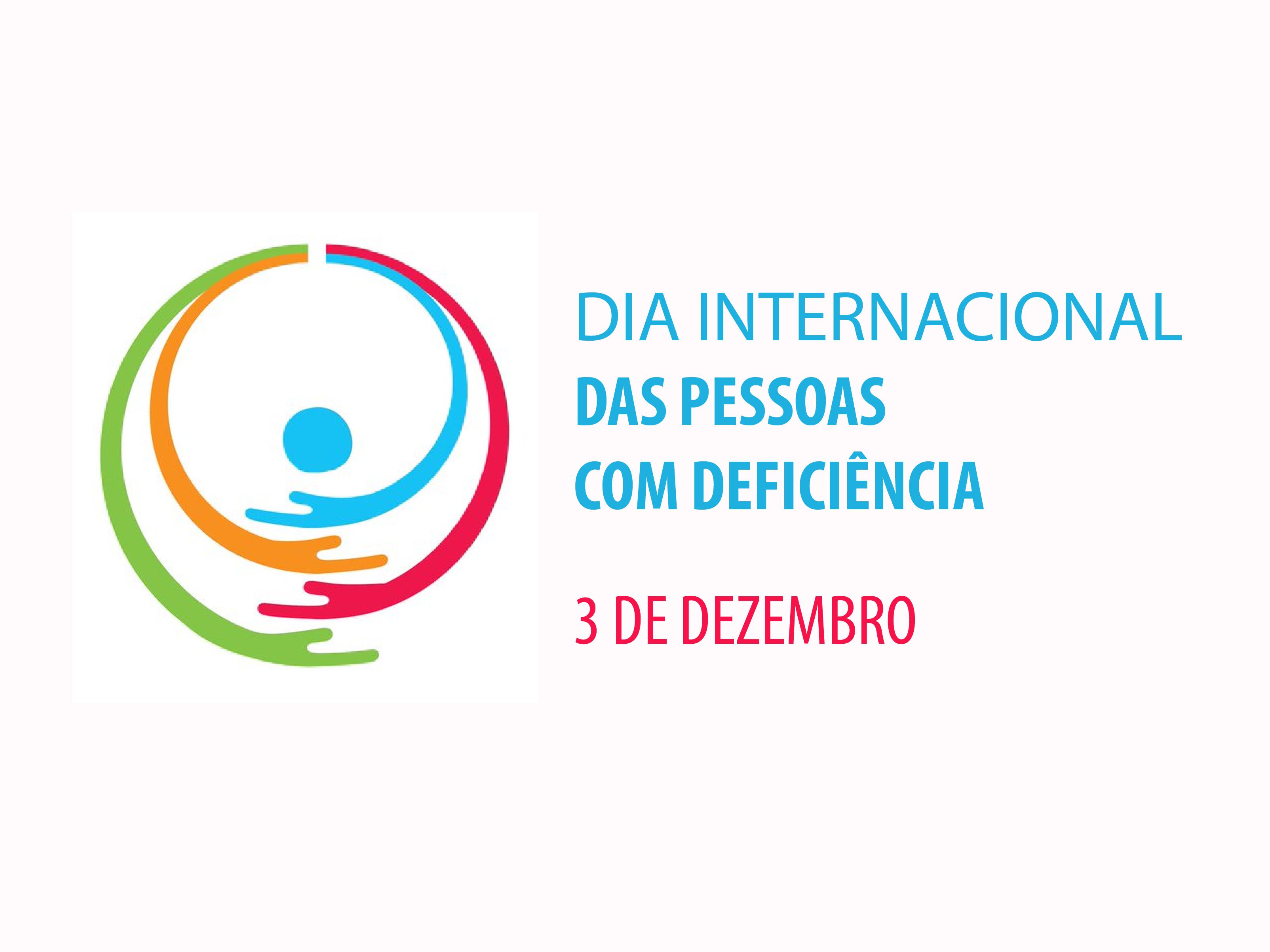 Logo do Dia Internacional das Pessoas com Deficiência