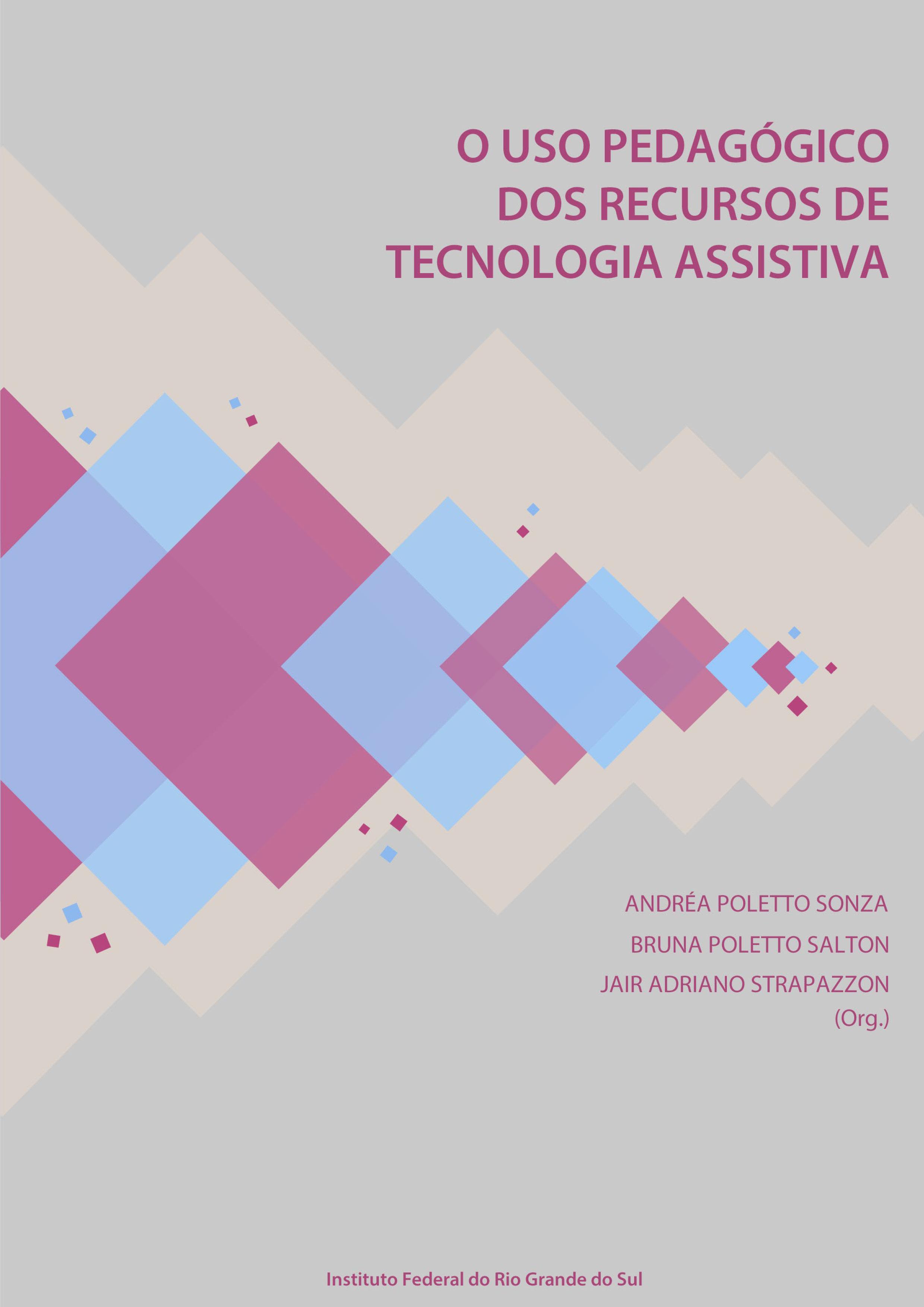 Capa Livro O Uso Pedagógico dos Recursos de Tecnologia Assistiva