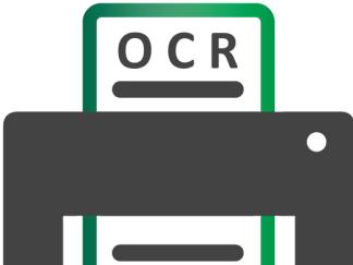 ícone com o texto OCR