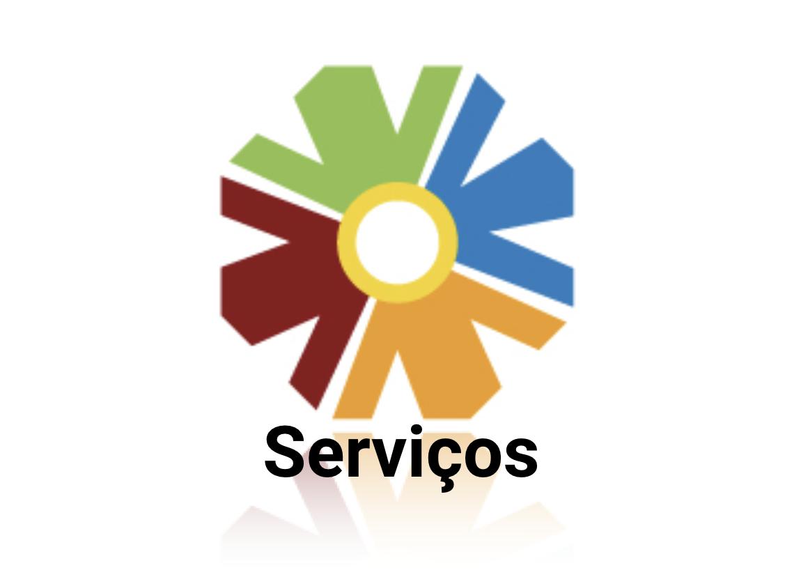 Logo do CTA com a palavra Serviços
