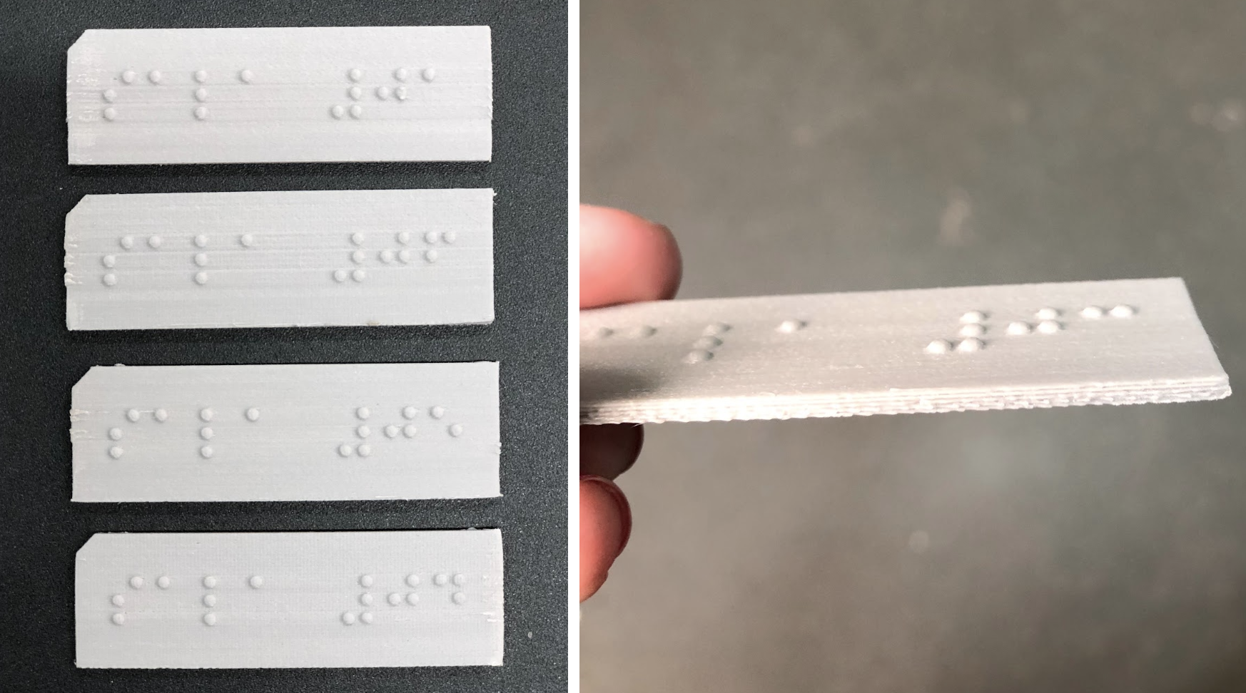 Placas Braille