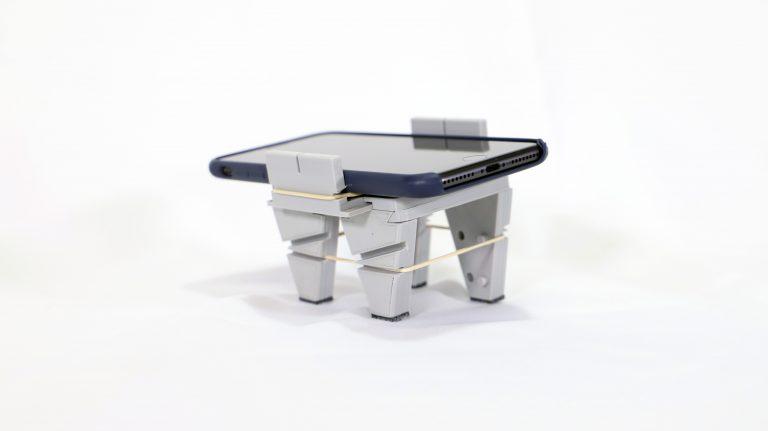 Suporte para utilizar o smartphone como lupa