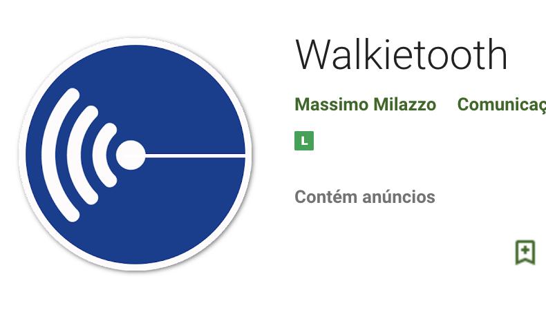 aplicativo walkietooth